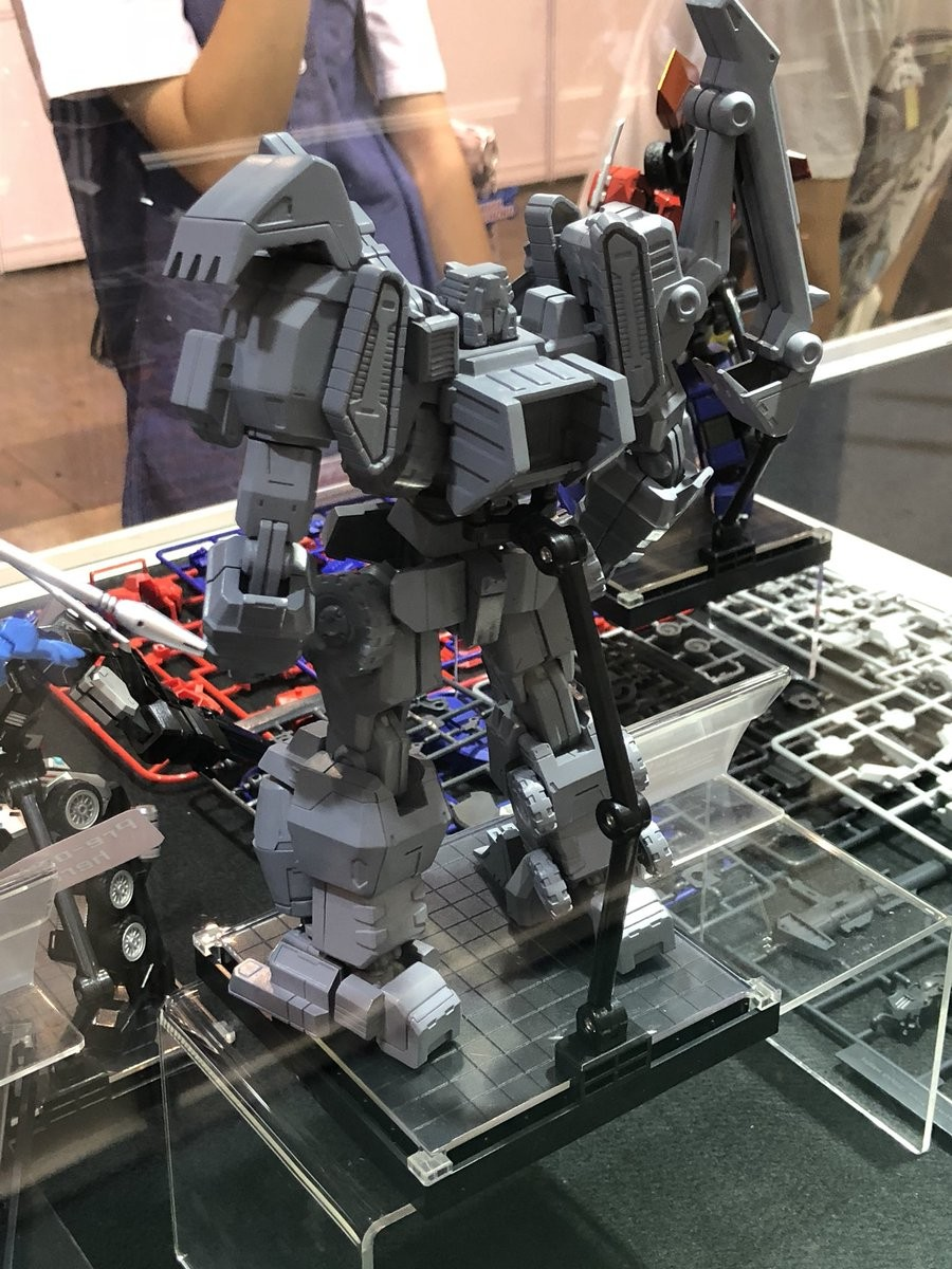 Transformers News: Flame Toys IDW Autobot Megatron Statue First Look #ACGHK