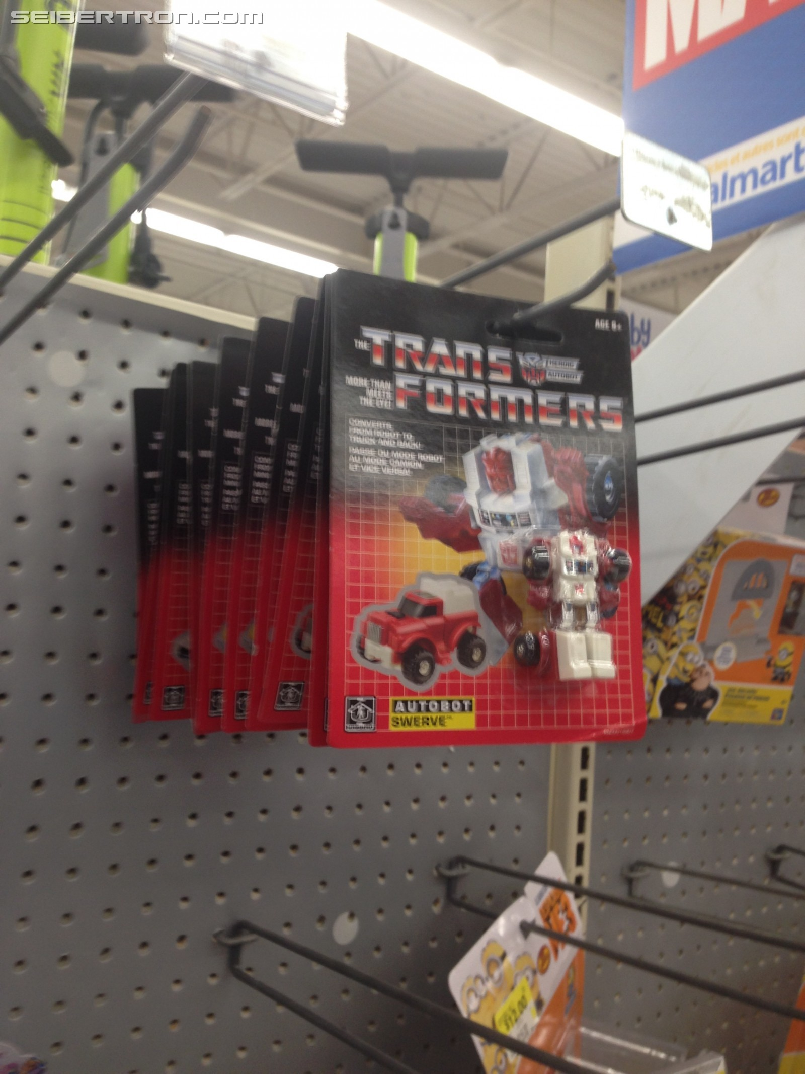 Transformers News: Volkswagen Logo and G1 Brawn Appearance Behind the Transformers G1 Minibot Reissues