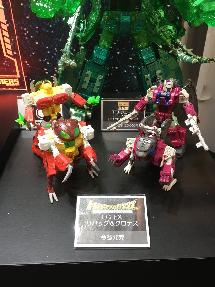 Transformers News: Takara Tomy Releasing Transformers Power of the Primes Grotusque, Repugnus, Throne of the Primes