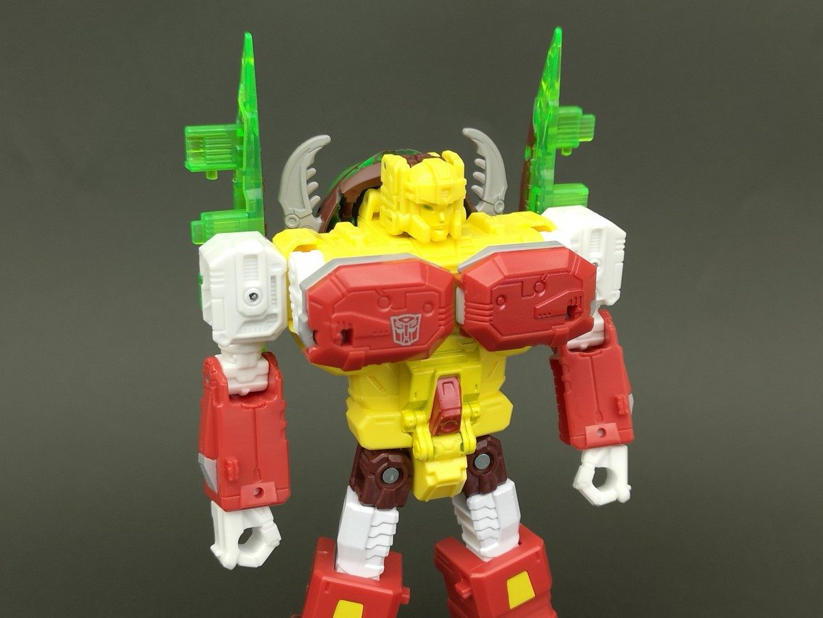 Transformers News: More In Hand Images of Transformers Power of the Primes Repugnus who is also Shipping now from Amazo