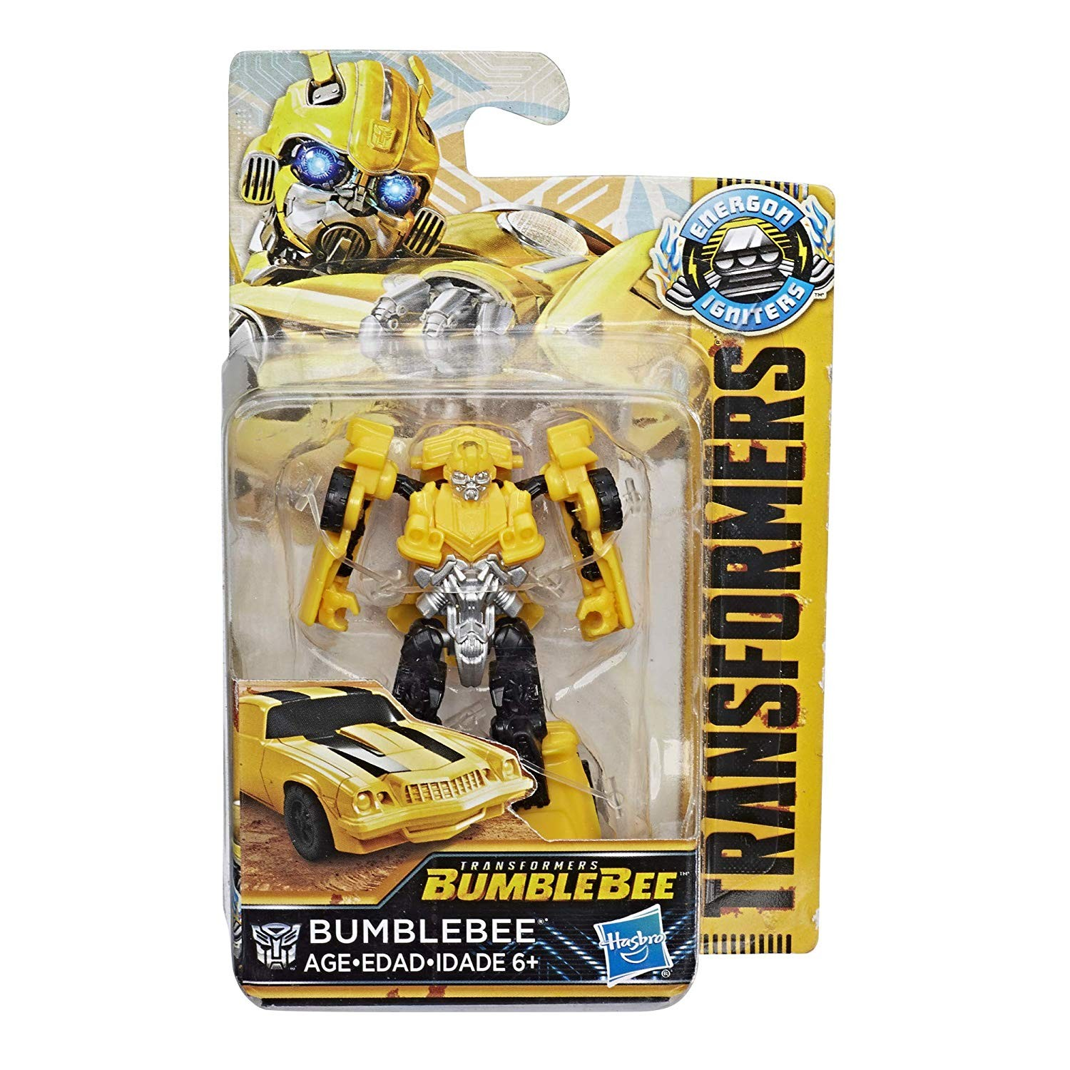 Transformers News: More Stock Images of Transformers Bumblebee Movie Masks, Stinger, Speed Series Camaro Bumblebee