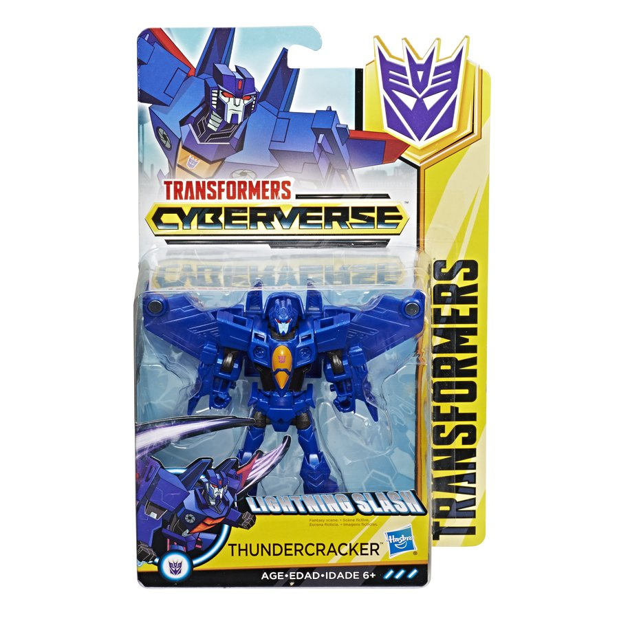 Transformers News: New Transformers Cyberverse Warrior class Thundercracker