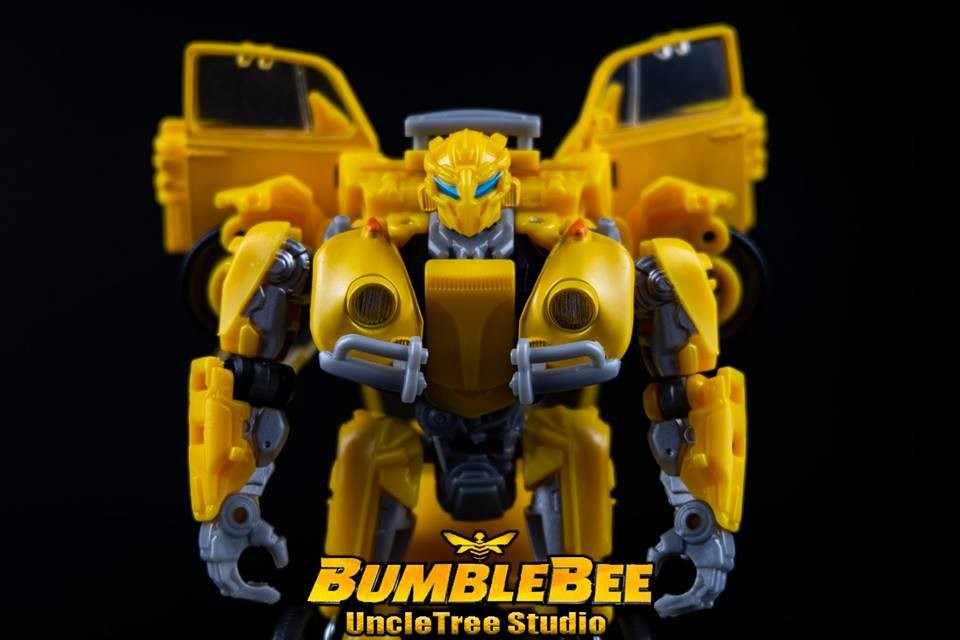 Transformers News: New High Quality Images of Transformers Studio Series 18 VW Bumblebee with Comparison
