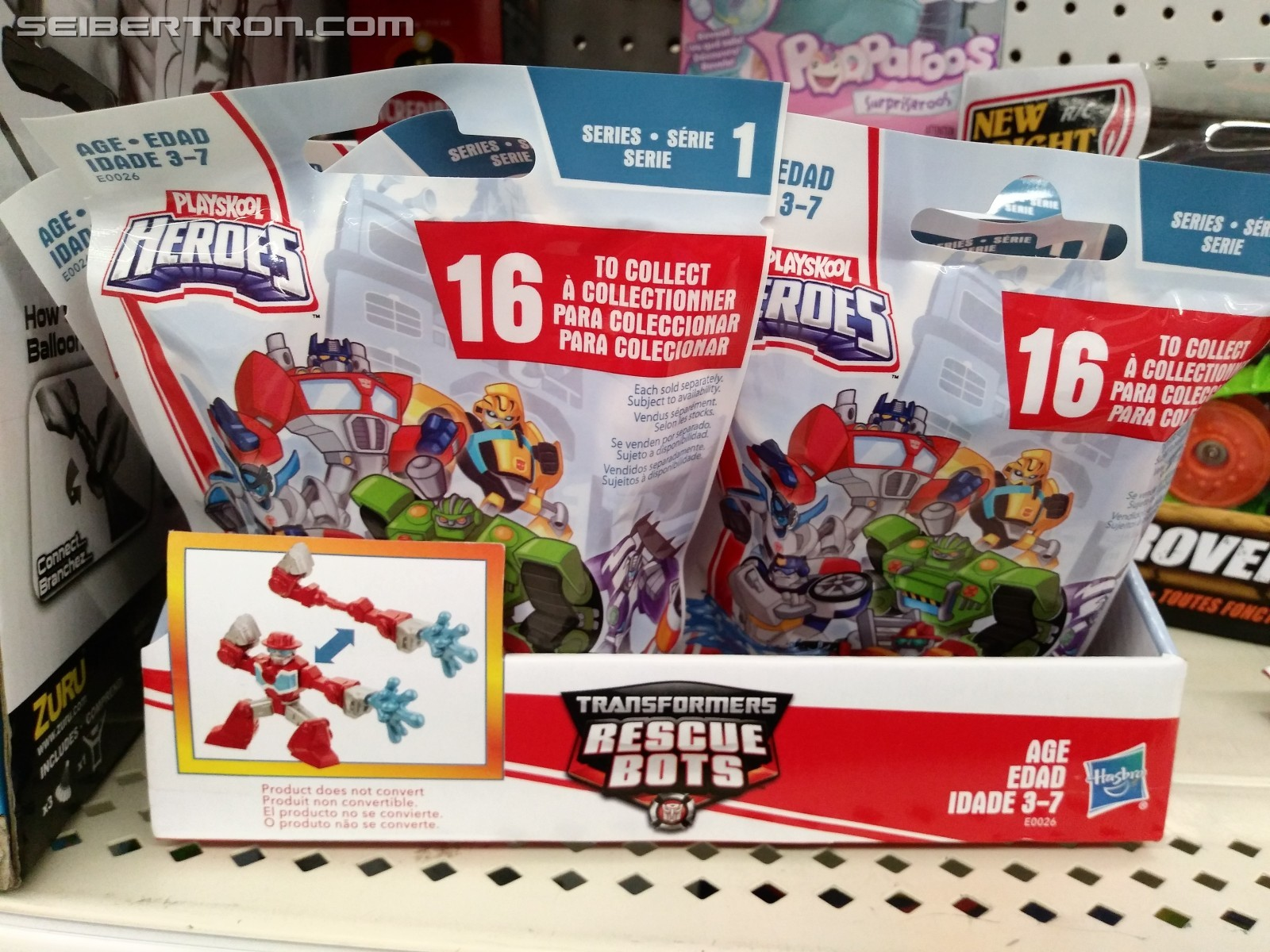 Transformers News: New Transformers: Rescue Bots Blind Bags Found at Retail Revealing Full Assortment