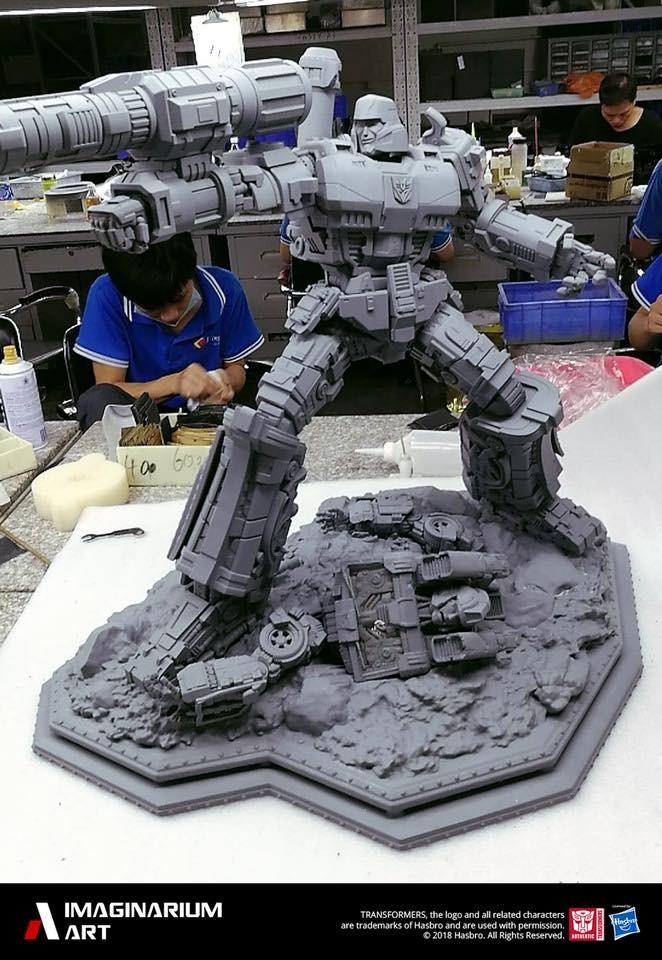 Transformers News: WIP Images of Imaginarium Art Transformers Megatron Statue