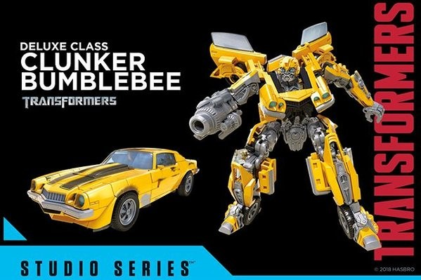 Transformers News: Official Images - Transformers Studio Series WWII Bumblebee, Sideswipe, Barricade, Clunker Bumblebee