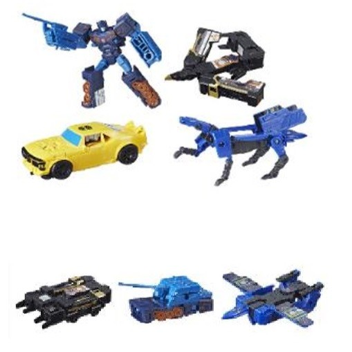 Transformers News: Stock Photos of Target Exclusive Bumblebe Movie Toys Including Soudnwave and  Casette Pack