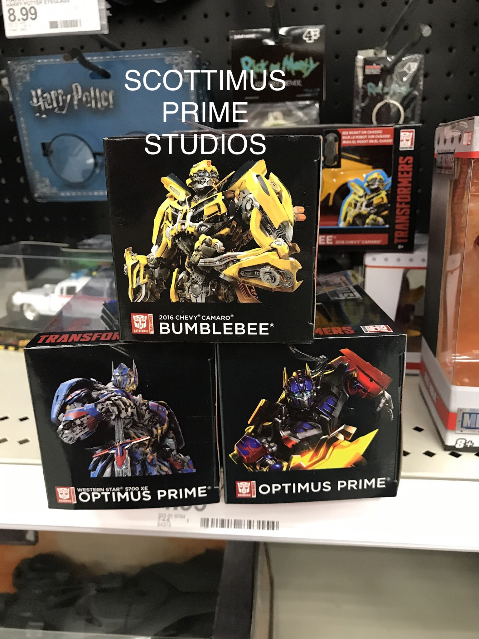 Transformers News: New sighting of Jada Hollywood Rides Transformers Studio Series including 2007 Optimus Prime