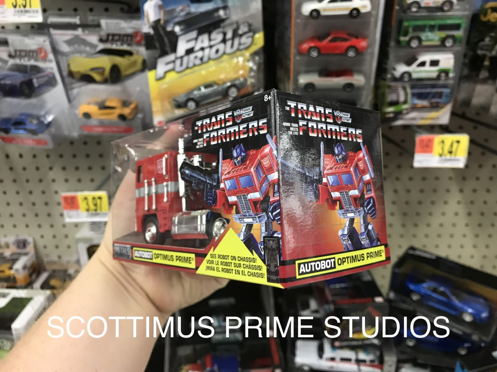 Transformers News: Jada Toys G1 Optimus Prime Spotted at US Retail