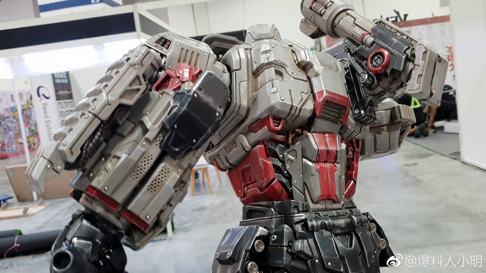 Transformers News: Video and Images of XM Studios Megatron Statue