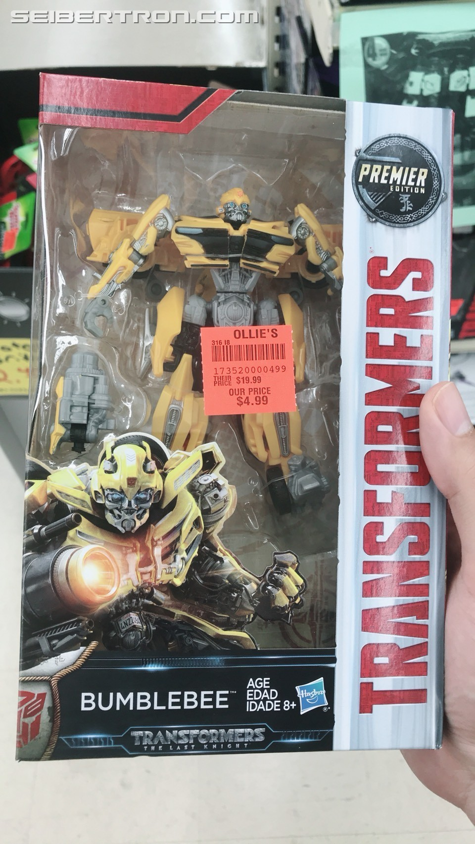 Transformers News: Ollie's Stocked With The Last Knight Wave 3, Titans Return Leaders, Voyagers, Deluxes, Trypticon