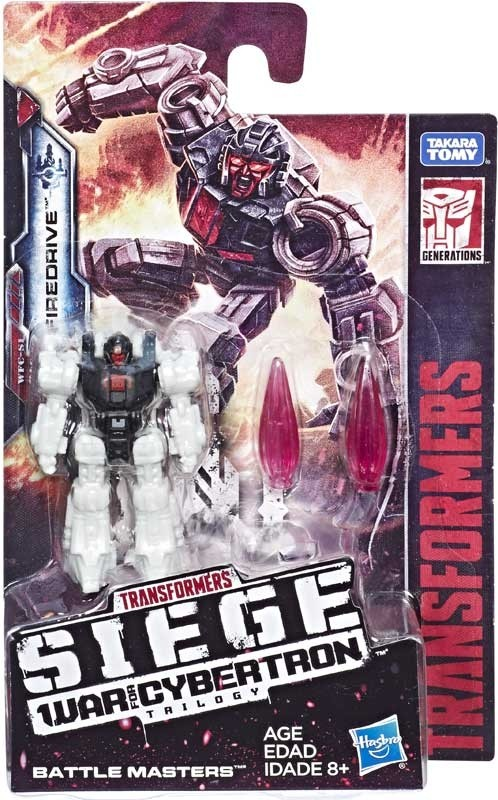 Transformers News: In Package Pictures of Transformers War for Cybertron: Siege Battle Masters Including Blowpipe