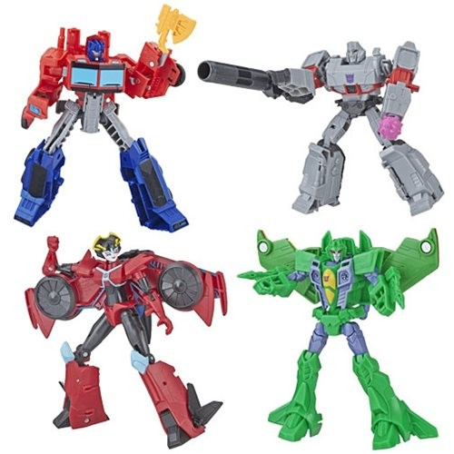 Transformers News: Case Contents for Transformers Cyberverse Wave 2 Show Acid Storm and Slipstream to be Shortpacked