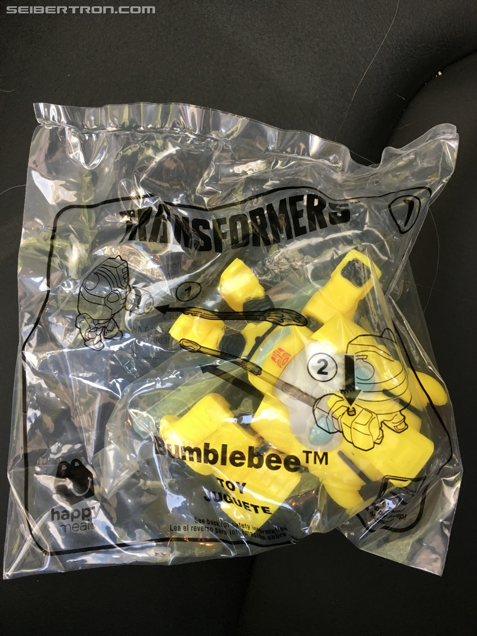 Transformers News: McDonald's Happy Meal Cyberverse Toys Rebranded as Bumblebee Movie Toys for US