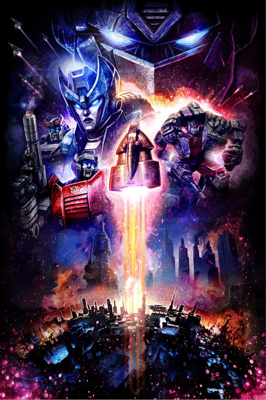 Transformers News: New Poster for Transformers War for Cybertron: Siege, with Possible Omega Supreme Tease