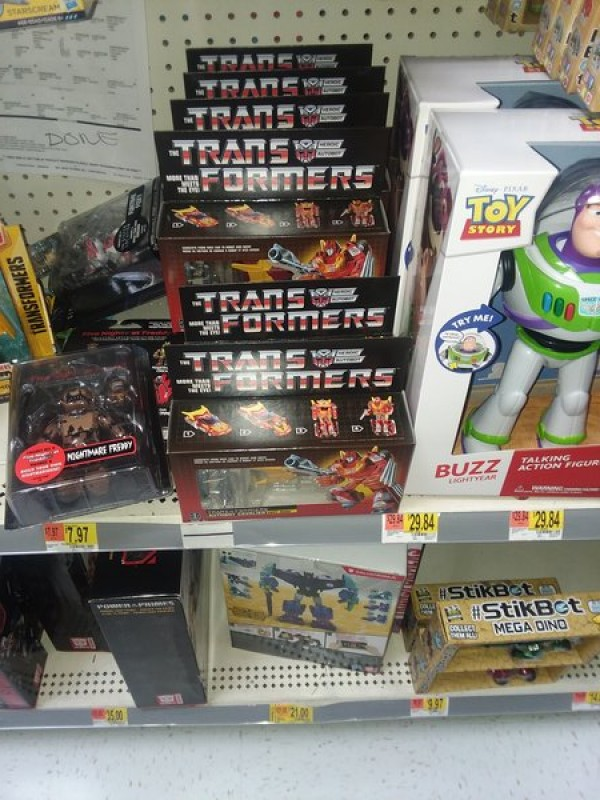 Transformers News: 2018 G1 Transformers  Hot Rod and Devastator Reissues Found in the US