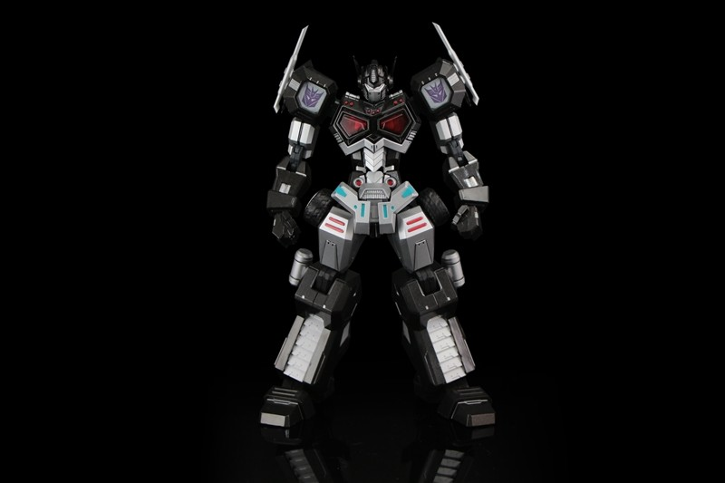 Transformers News NYCC Exclusive Flame Toys Nemesis Prime Attack Mode Model Kit Announced