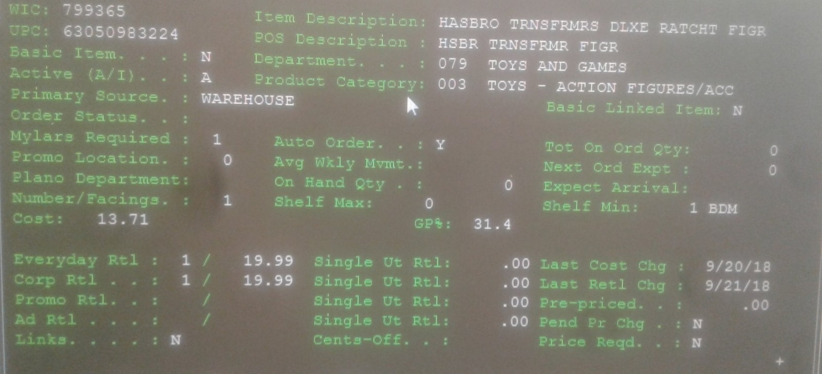 Transformers News: Transformers Siege Ratchet Found on Walgreens Database + Siege Deluxe Pricing Revealed