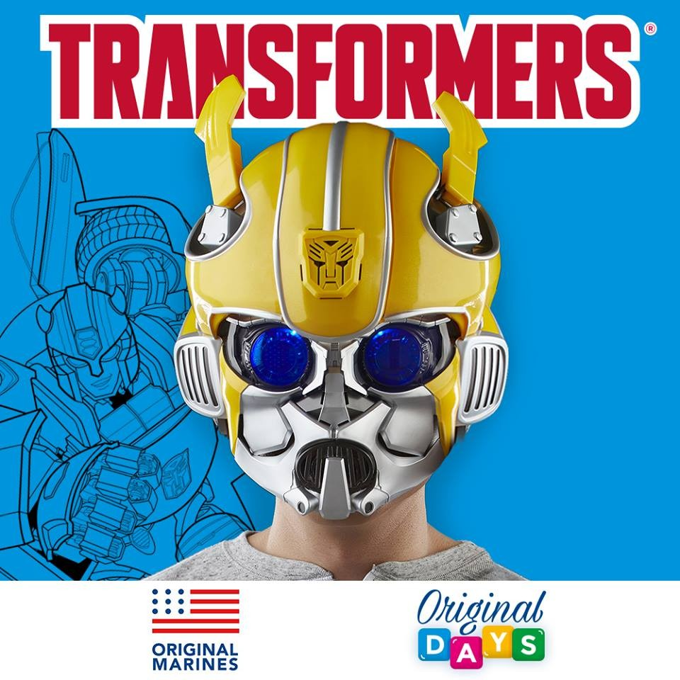 Transformers News: Transformers Bumblebee Movie Toys To Debut in Original Marines Clothing Stores in Italy