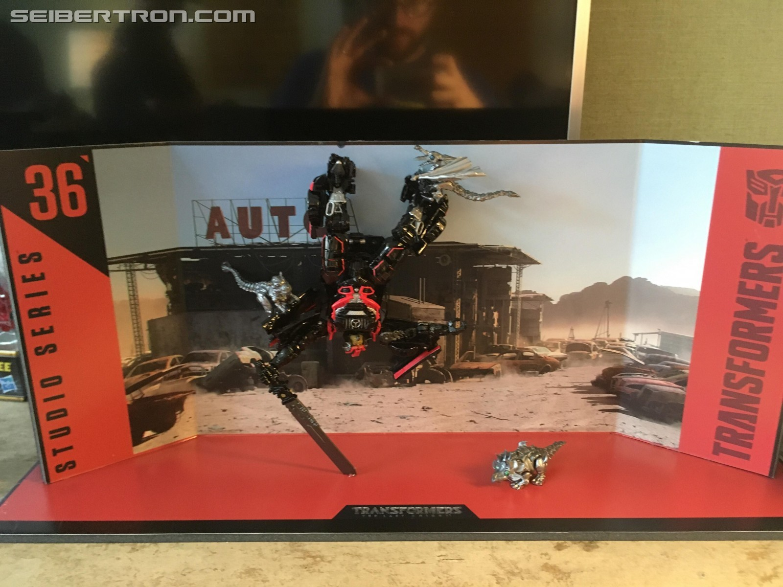 Transformers News: New Images of Transformers Studio Series Drift and Baby Dinobots #NYCC