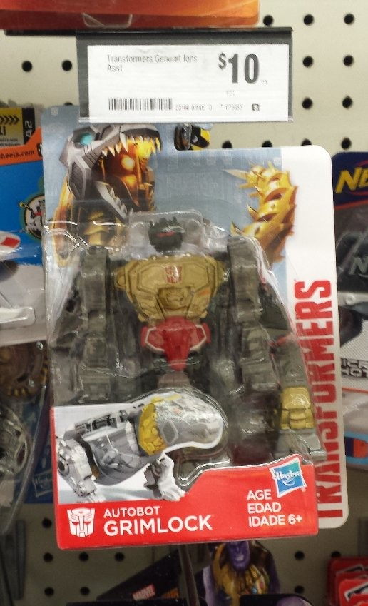 Transformers News: Transformers Authentics 5 inch Grimlock Sighted at Australian Retail