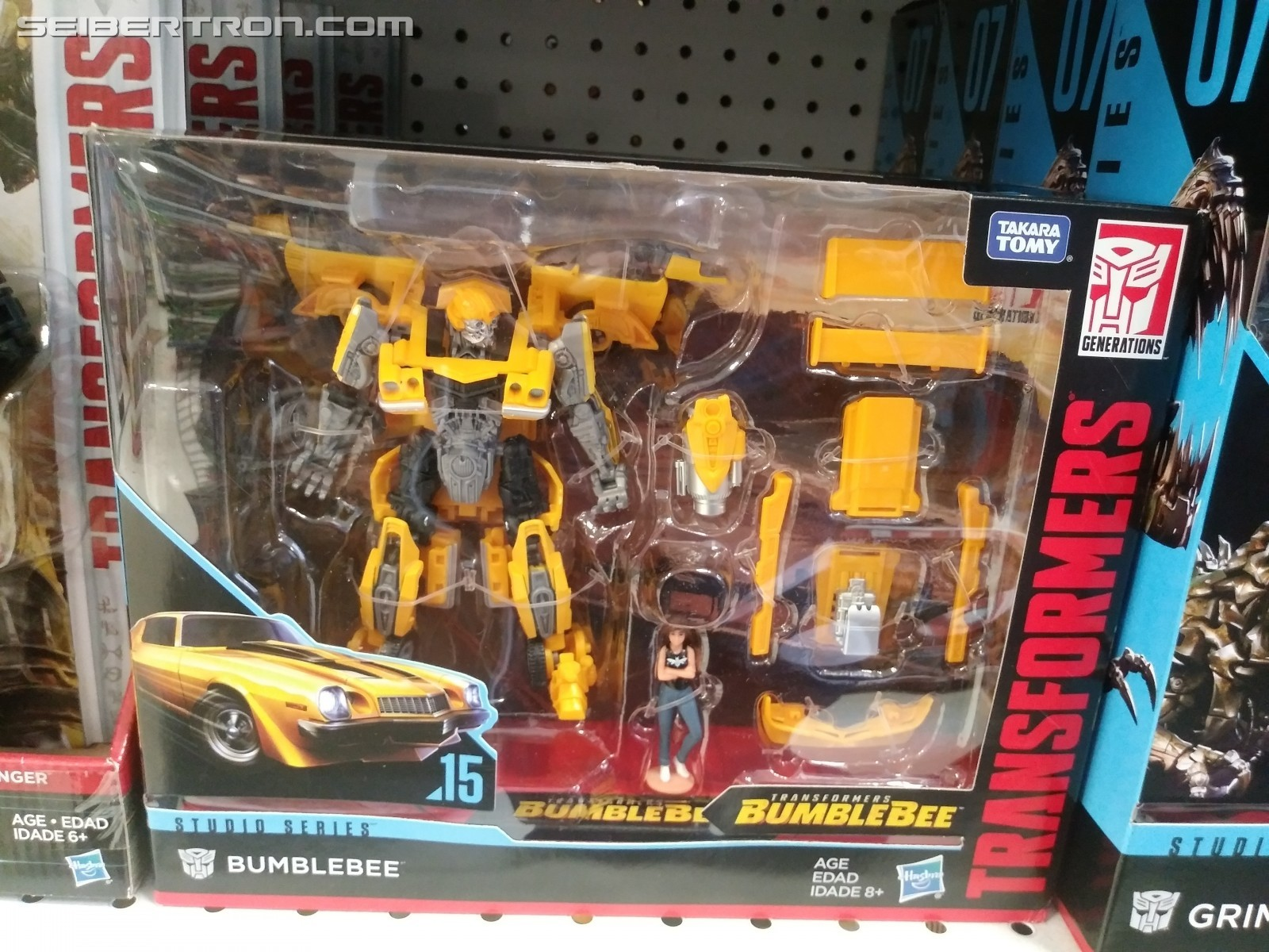 Transformers News: Info on Exclusive Studio Series Outside the US with SS Drift in UK and SS