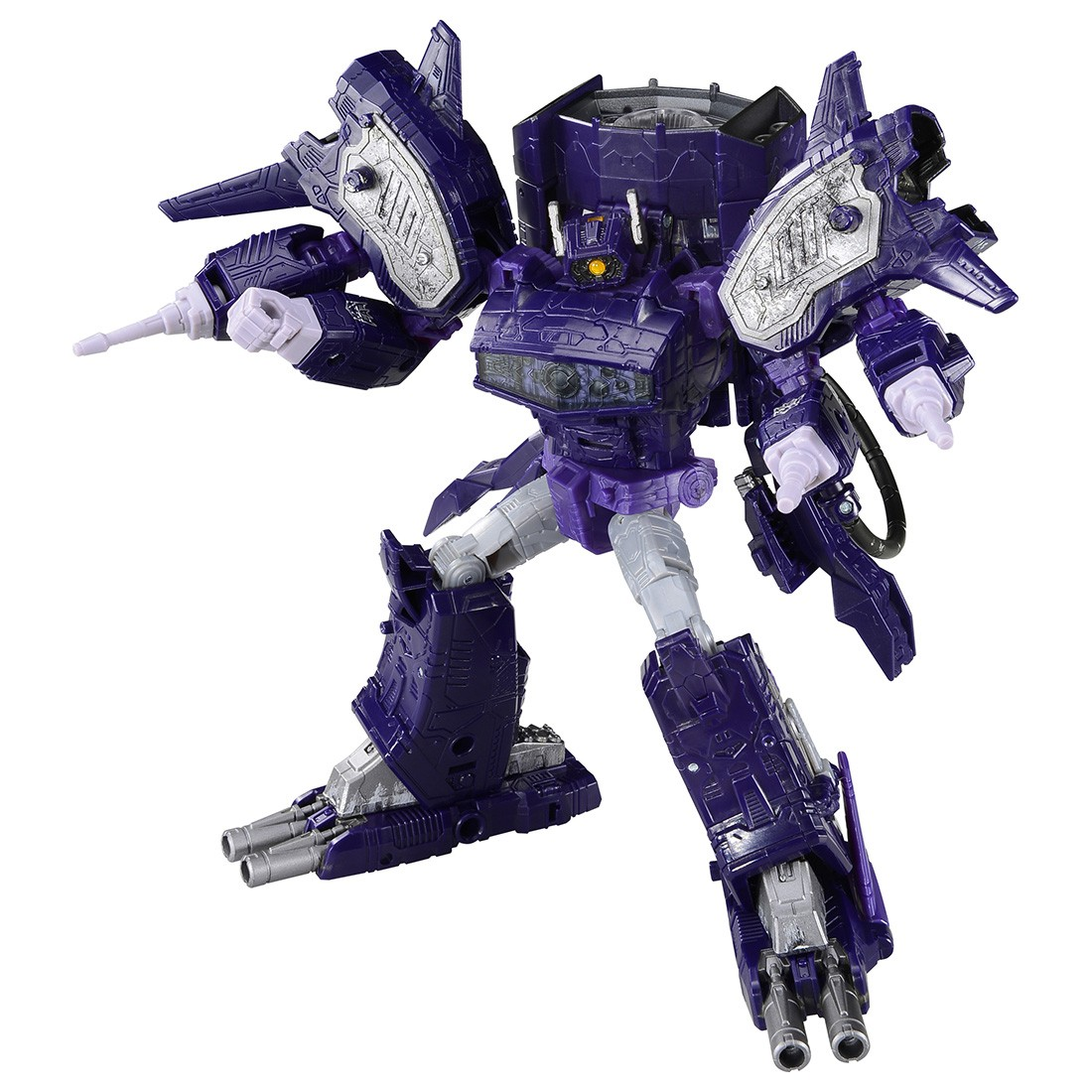 Transformers News: Shockwave to be Repacked in Wave 2 of Transformers Siege Leaders