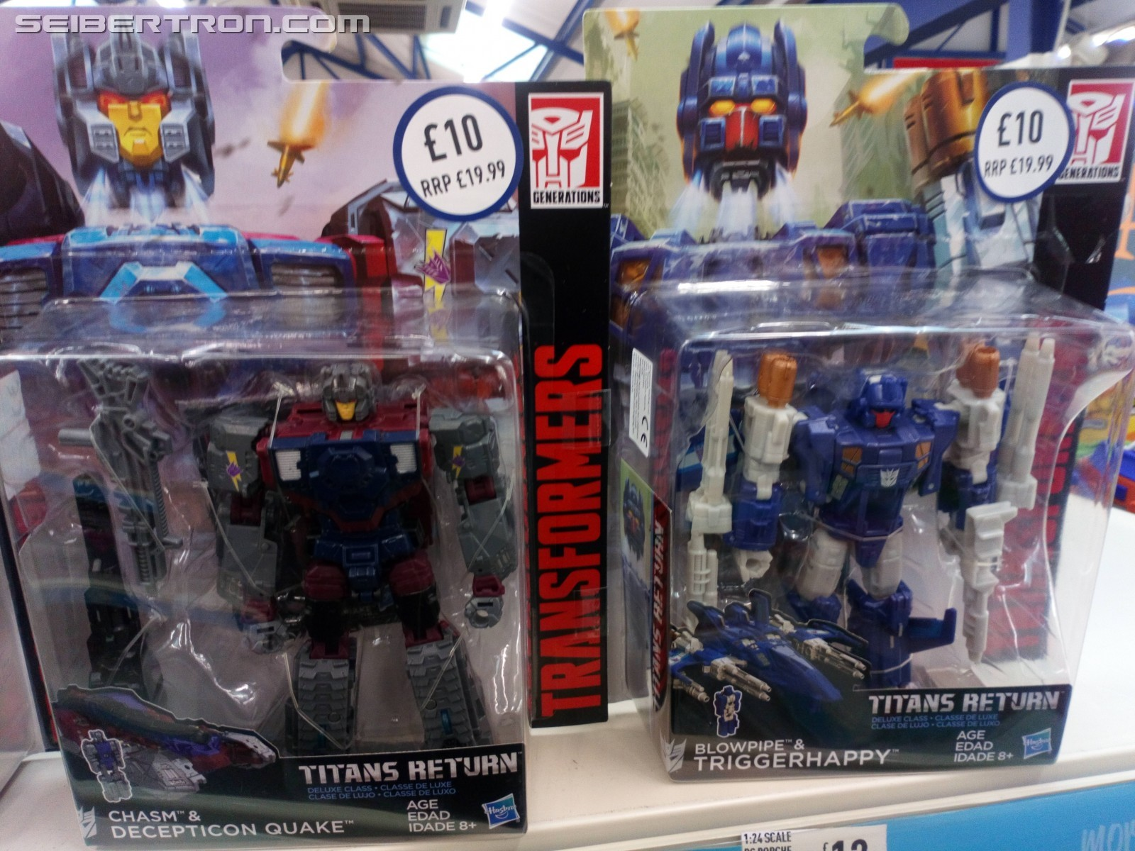 Transformers News: Transformers Titans Return Krok, Quake, Triggerhappy, and Twinferno Sighted at Large Discount in UK