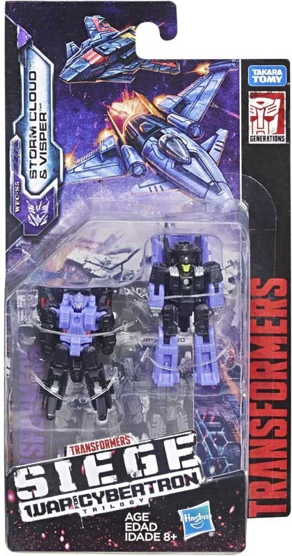 Transformers News: Transformers War for Cybertron: Siege Wave 1 Micromasters in Package Photos