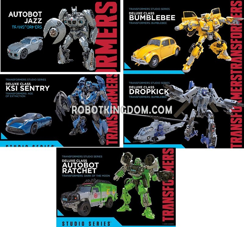 Transformers Studio Series Wave 4 Deluxe And Voyager Case