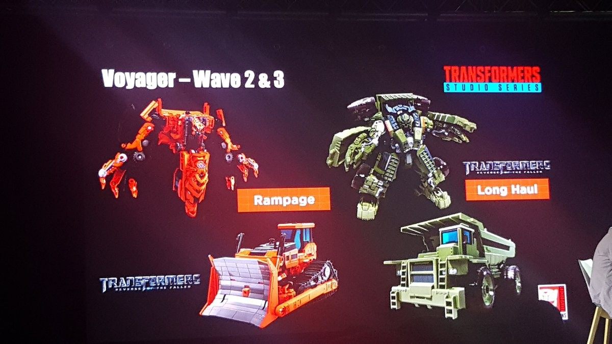 Transformers News: MCM London 2018 Presentation including Studio Series Devastator, Botbots, Cyberverse, and more!