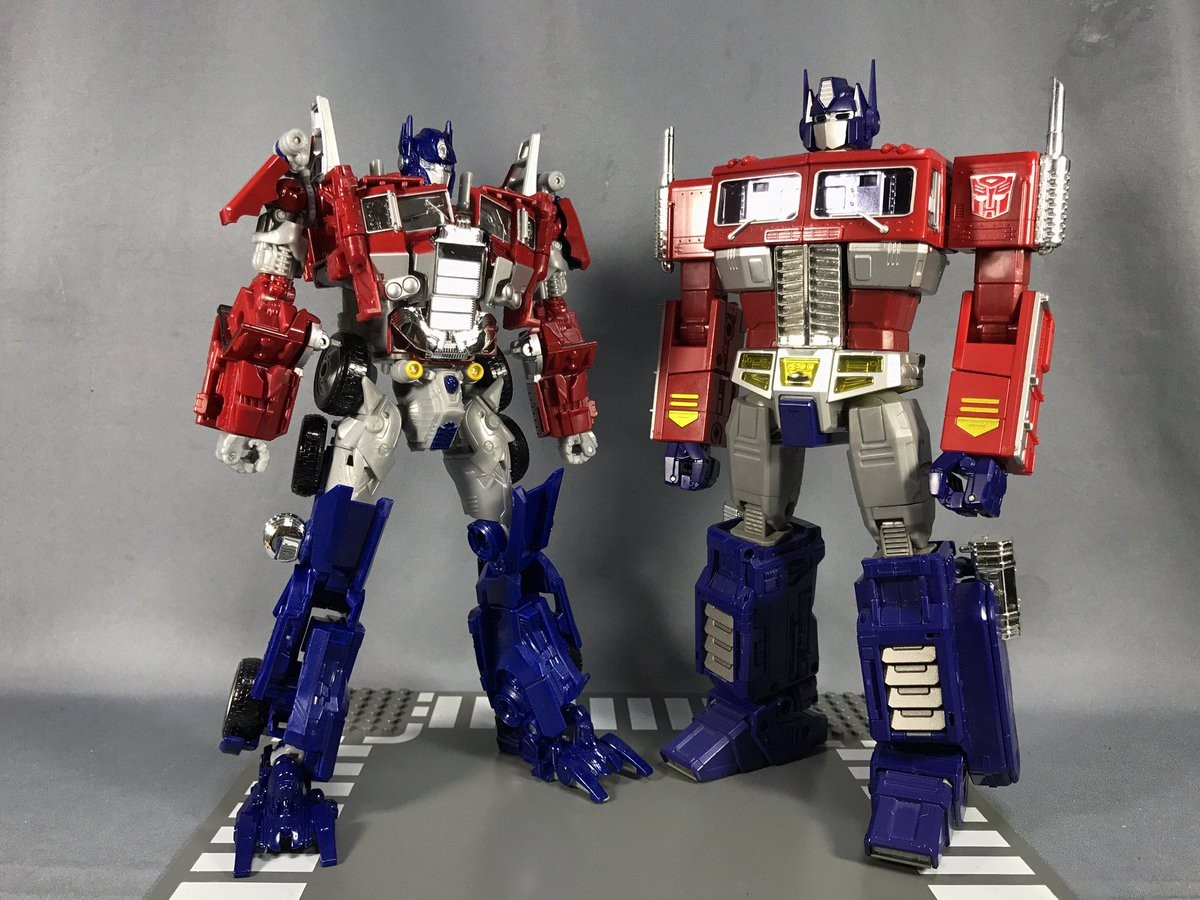 Transformers News: Even More Images of BB-02 Legendary Optimus Prime Including Transformation Video