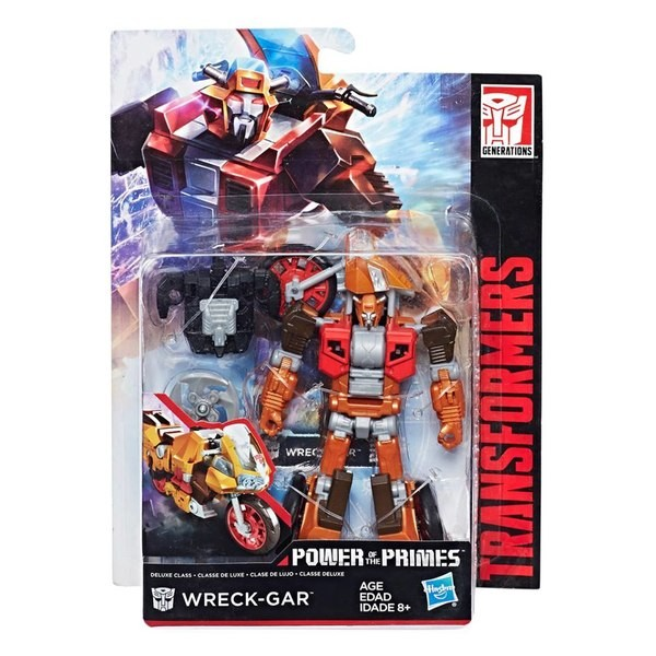 Transformers News: Transformers Power of the Primes Wreck Gar In Stock at Walgreens.com