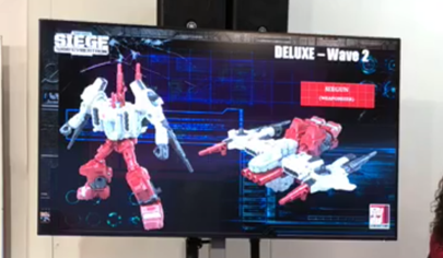 Transformers News: Recording of Italy Lucca Comics and Games Convention panel! (Siege Prowl, Sixgun and more!)
