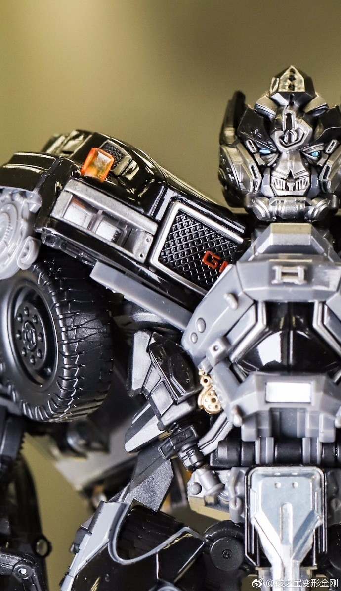 Transformers News: In Hand Images - Transformers Movie Masterpiece MPM-6 Ironhide