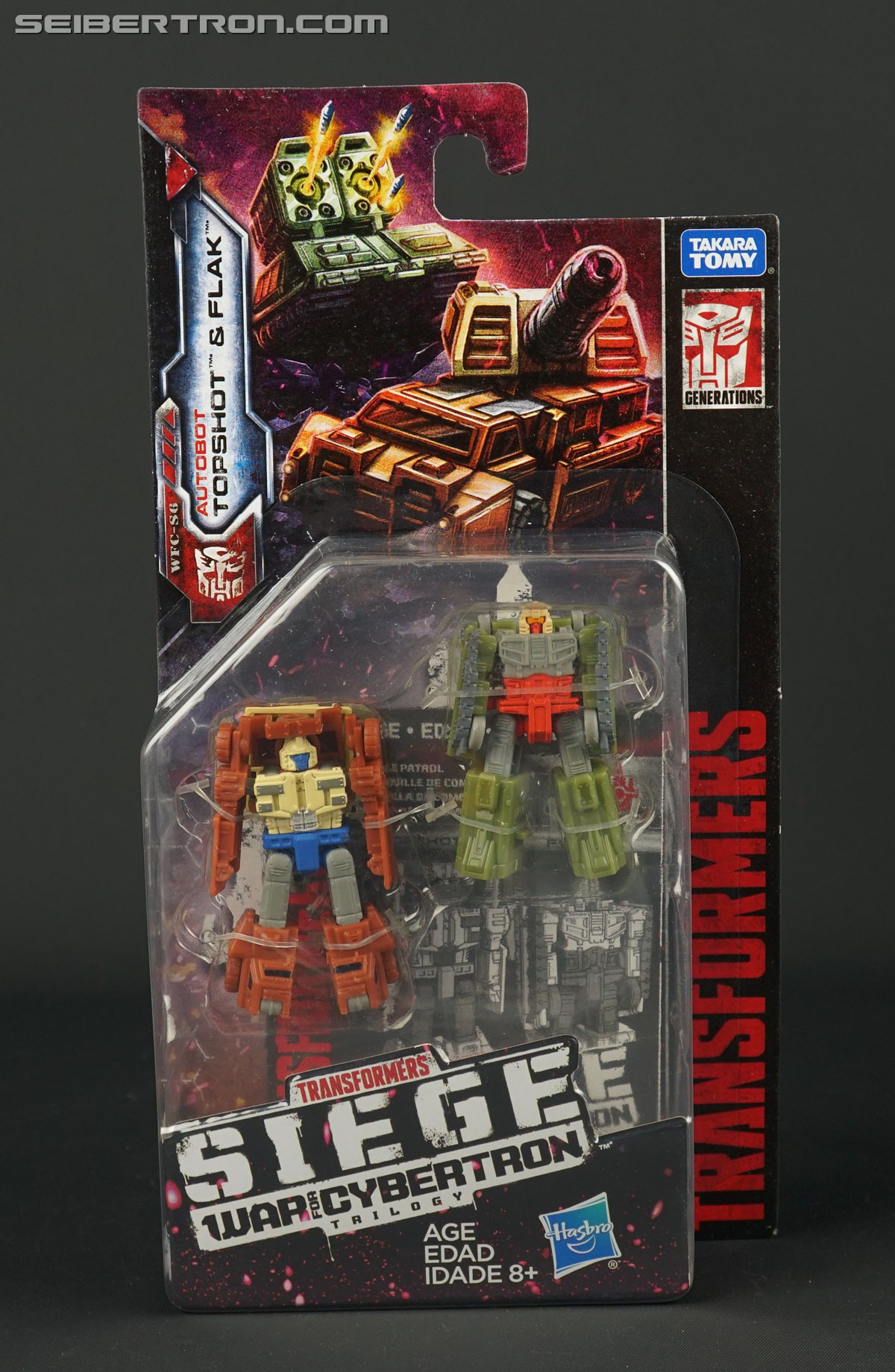 Transformers News: In-hand comparison pics of Micromasters from Transformers War for Cybertron SIEGE