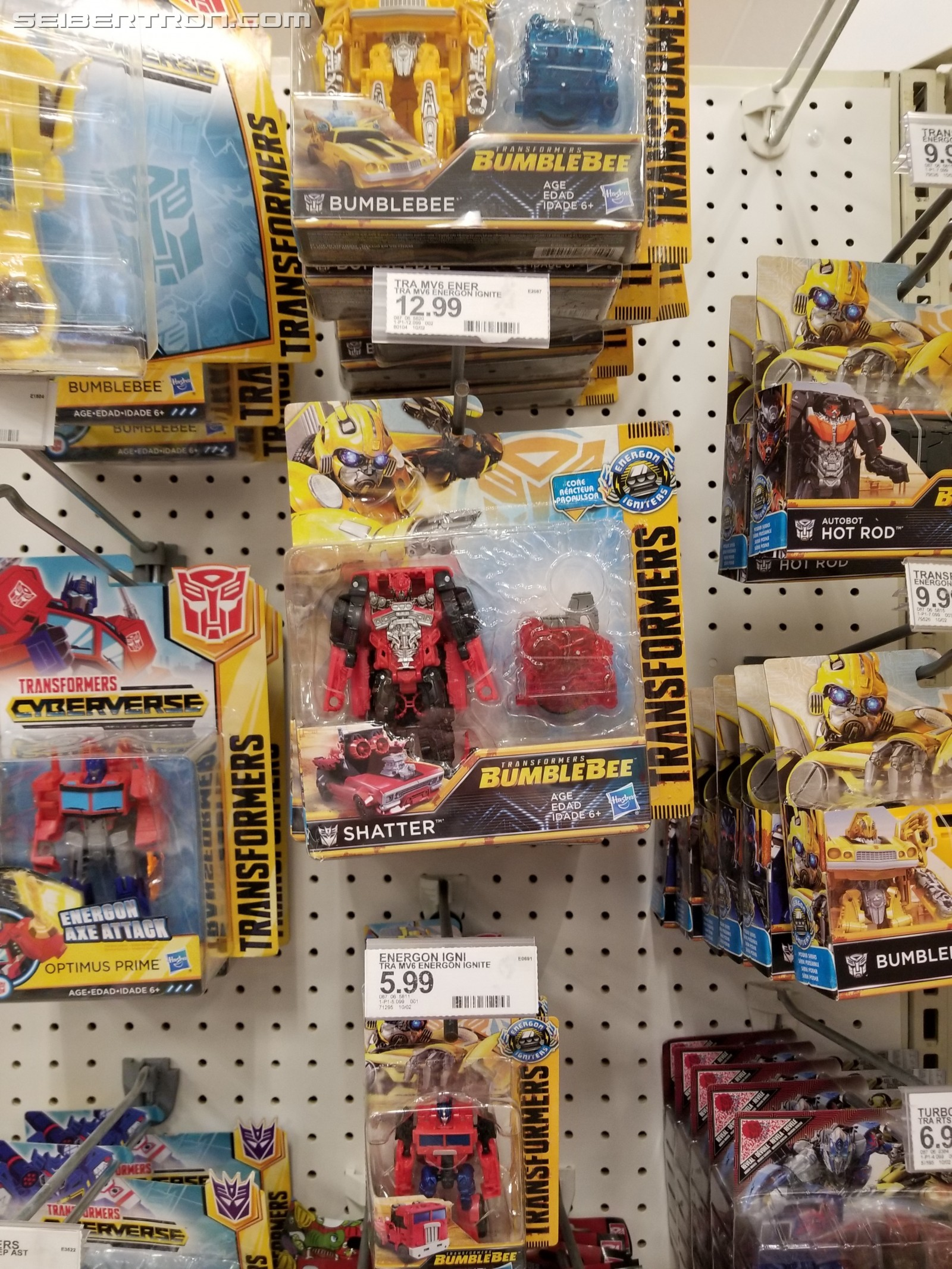 Transformers News: Transformers: Bumblebee Movie Power Plus Shatter Spotted at US Retail