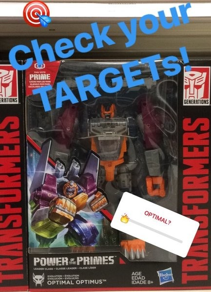 Transformers News: Transformers Power of the Primes Optimal Optimus found at Target in the US