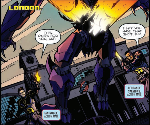 Transformers News: IDW Transformers Unicron #6 Review