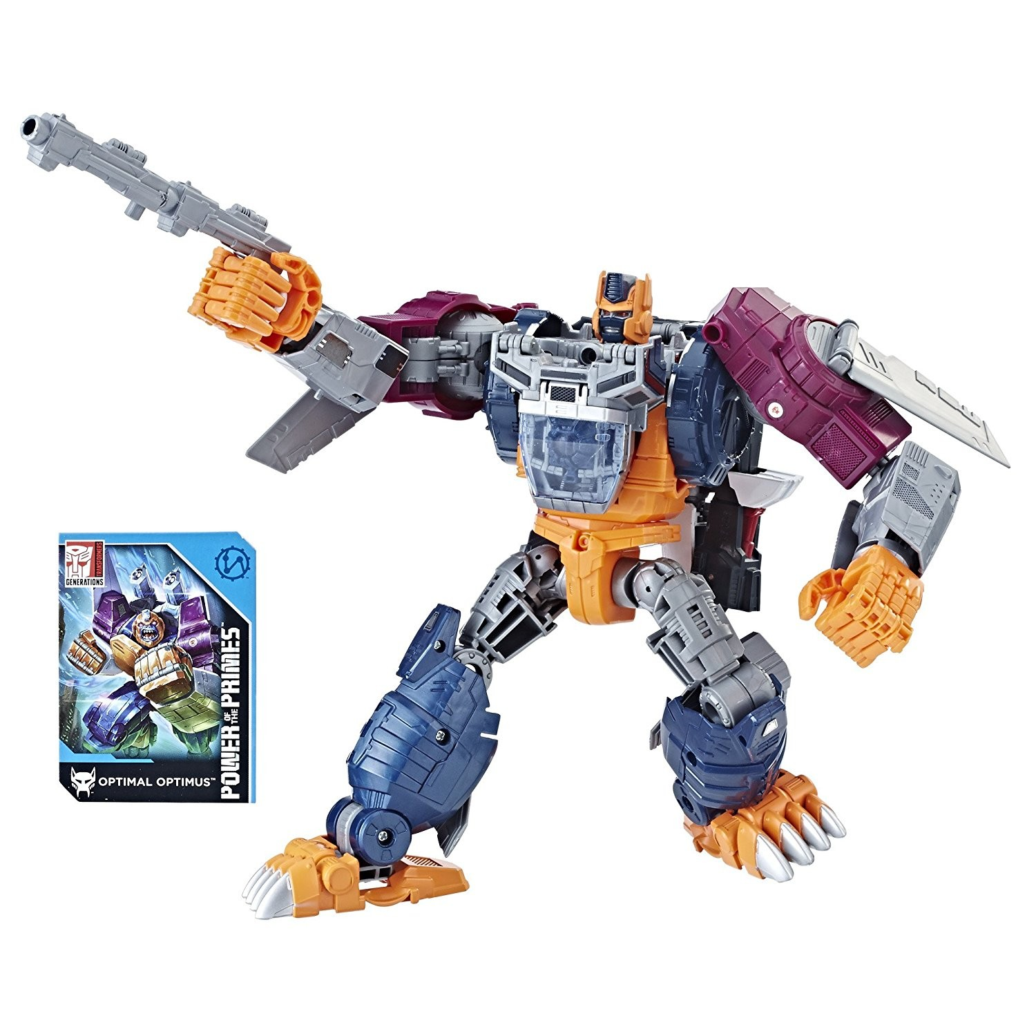 Transformers News: Re: Transformers Power of the Primes Optimal Optimus Back in Stock at Hasbro Toy Shop