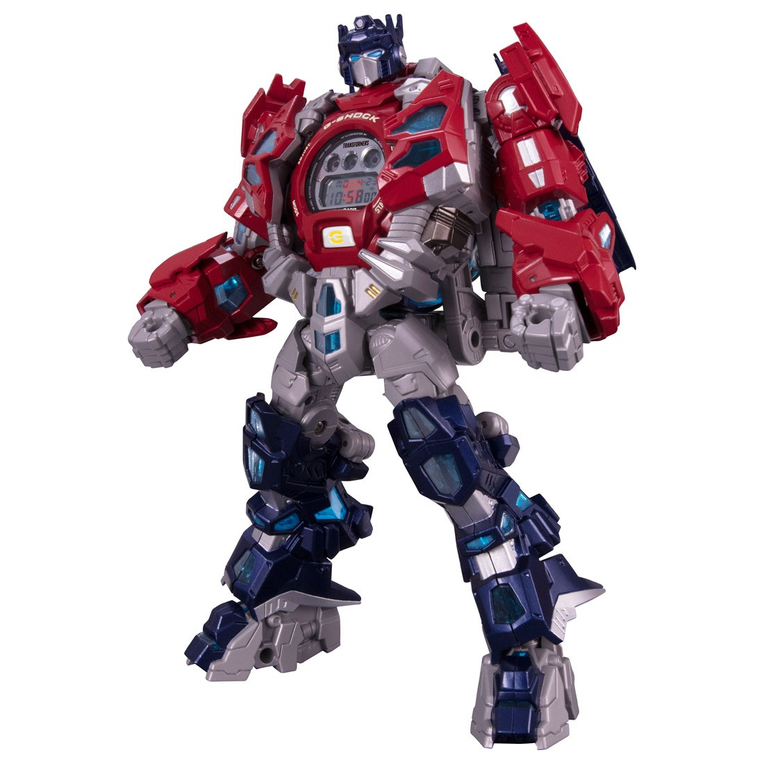 new stock photos and price for g-shock x transformers optimus prime