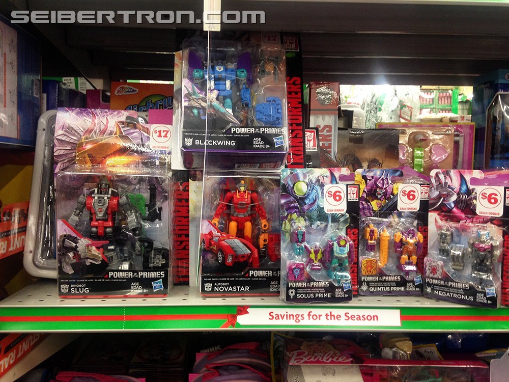 Transformers News: Late Wave Power of the Prime toys found at Family Dollar