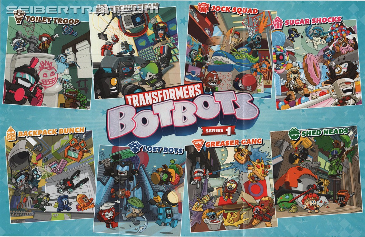 List Of Transformers >> Image Of Checklist And Full List Of Names For Series 1 Of