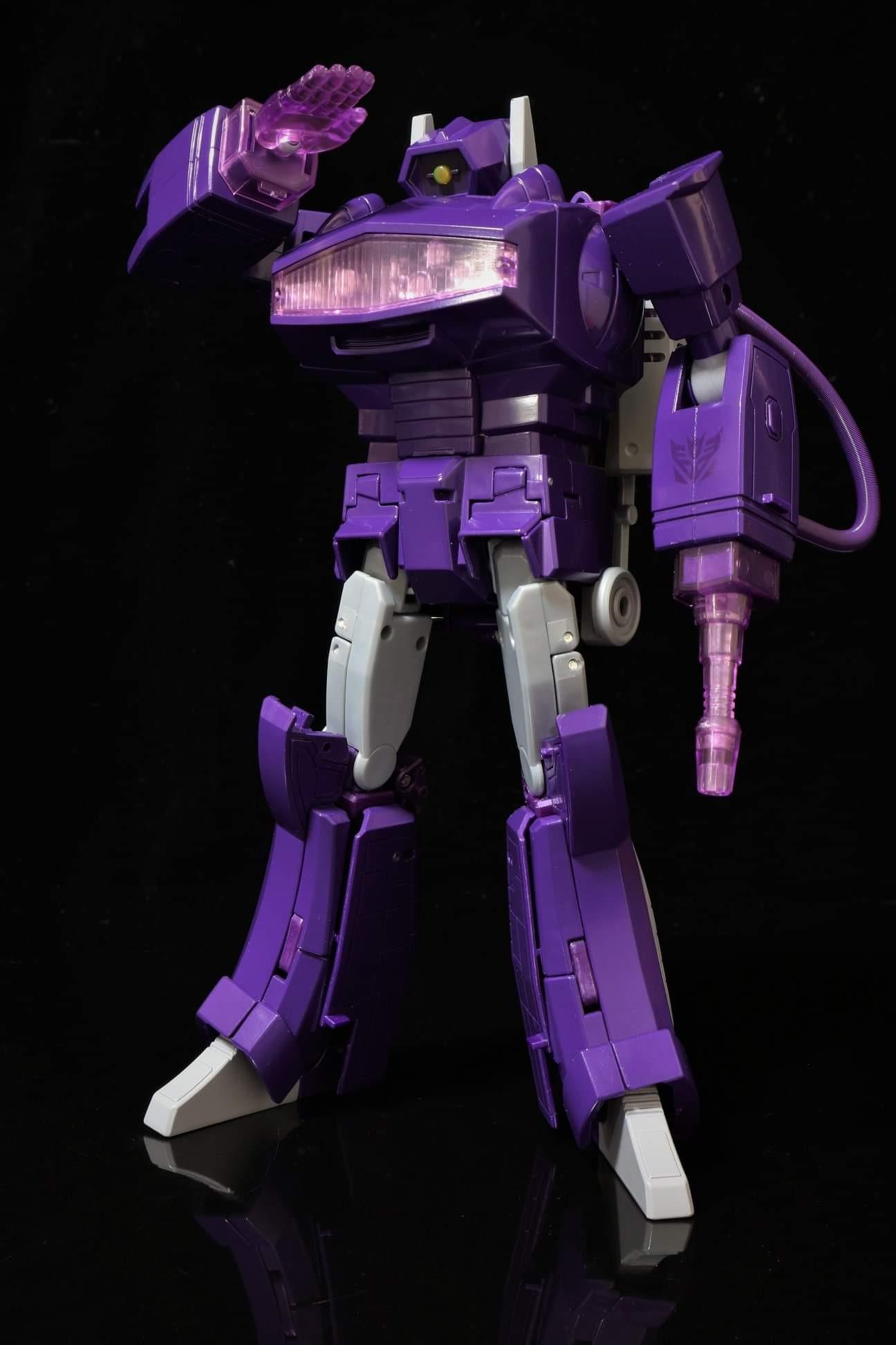 Transformers MP-29 MP29 Shock wave G1 modeling