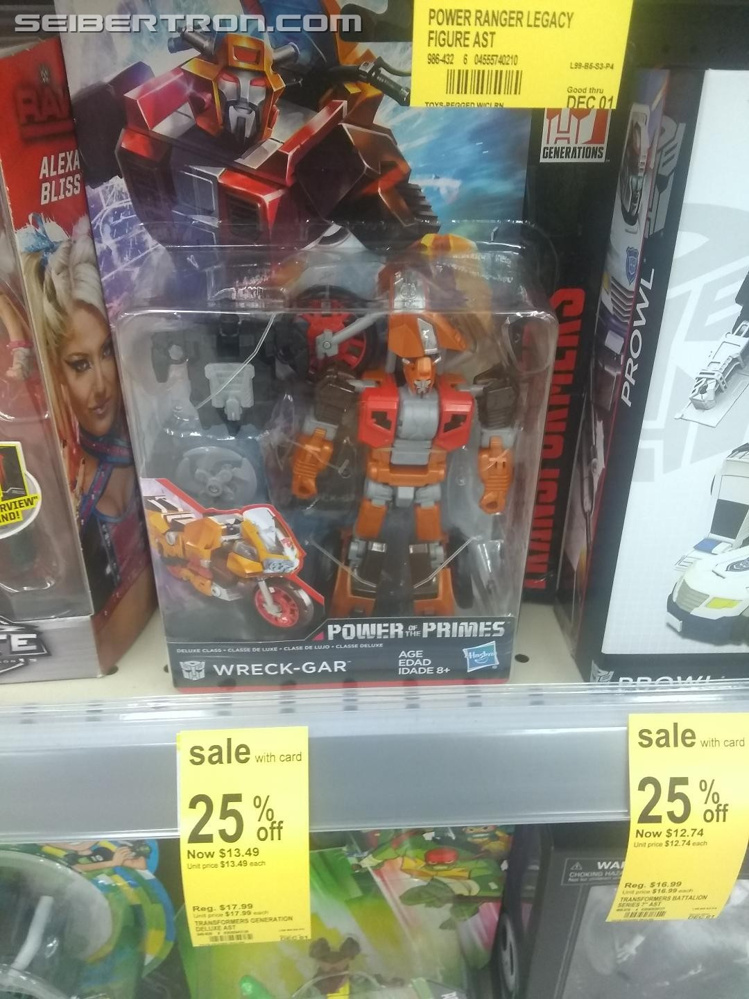 Transformers News: Steal of a Deal: Power of the Primes Wreck Gar 25% Off at Walgreens