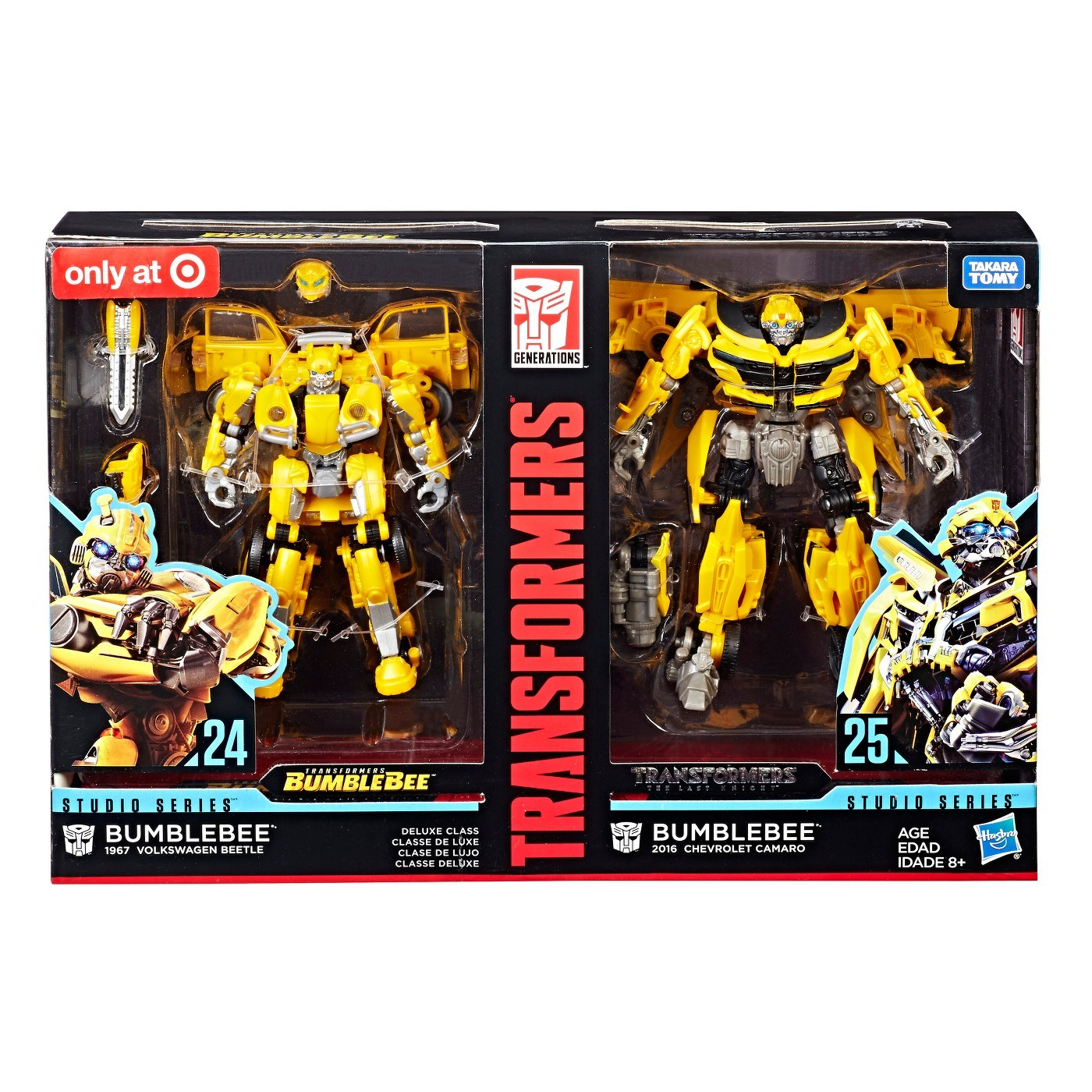 Transformers Studio Series Bumblebee Then And Now 2 Pack Now Online
