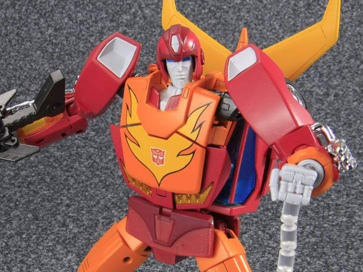 Transformers News: New Images - Masterpiece MP-09 Rodimus Convoy Reissue