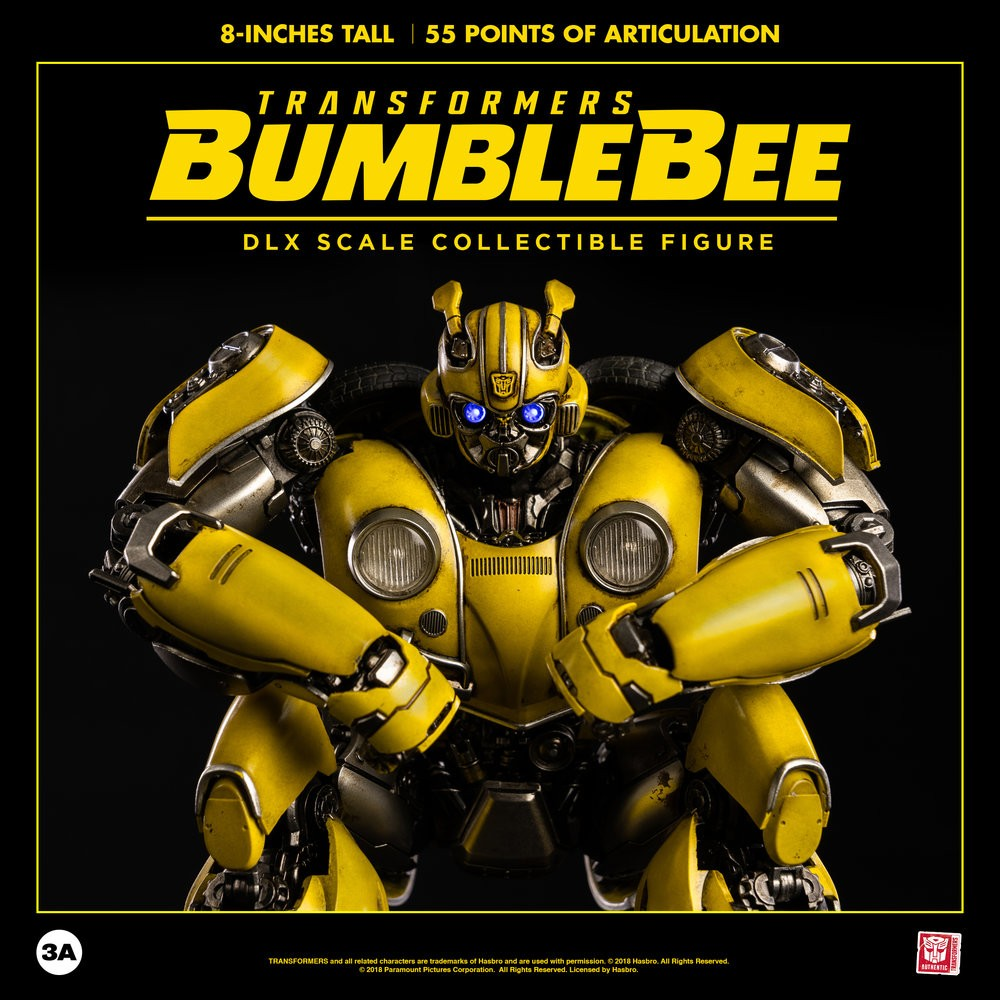 Transformers News: 3A Transformers DLX Collectible Figure Series Bumblebee revealed and TFsource preorder.
