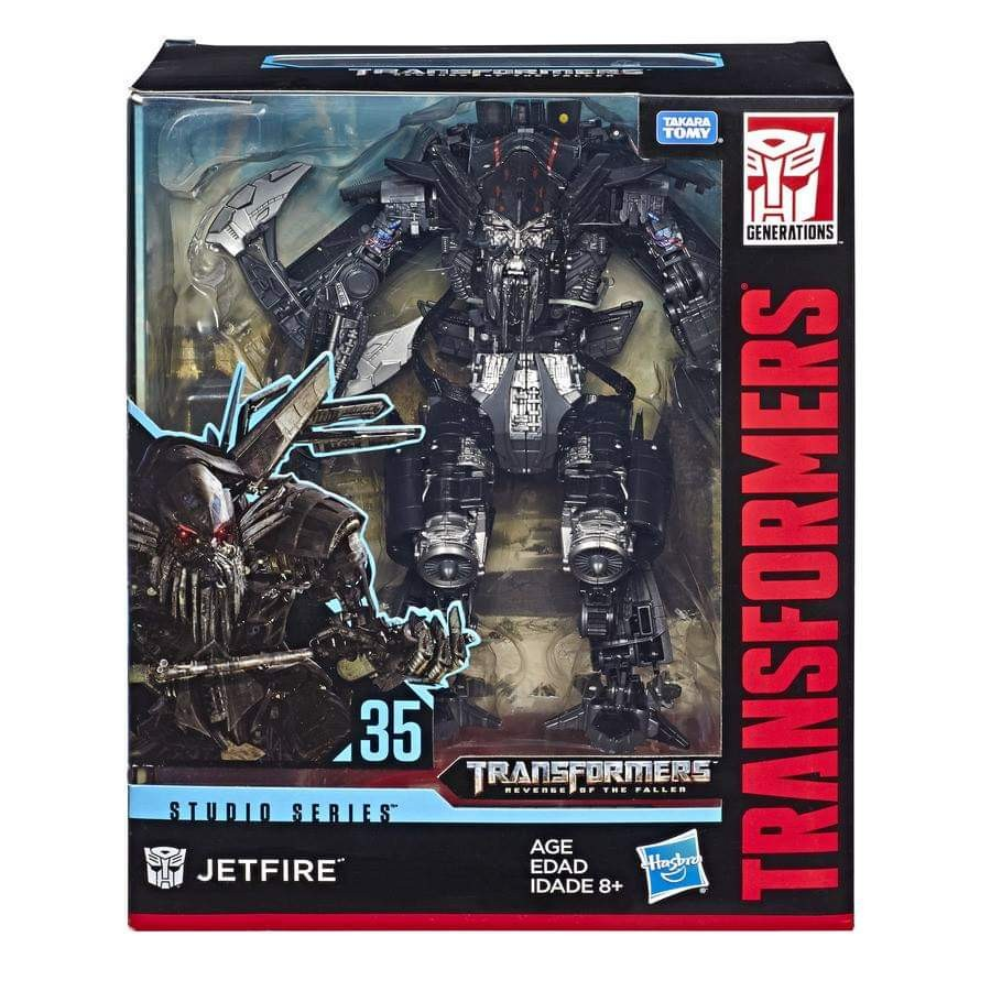 Transformers News: In Package Shots of Transformers Studio Series Optimus, Bonecrusher, Jetfire and DOTM Megatron.