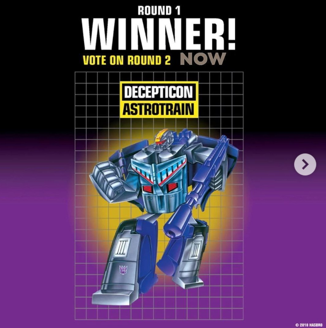 Transformers News: Round 2 voting begins on Hasbro Pulse Instagram for Walmart 2020 G1 Reissue